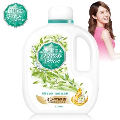 植淨美 草本濃縮洗衣精2250ml -馬鞭草香氛/瓶