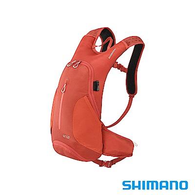 SHIMANO ROKKO 全功能背包-無水袋 12L 南非茶橘