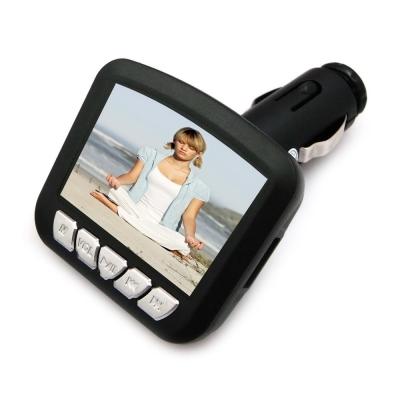 DW-新款二代M11彩色液晶螢幕車用MP4 轉播器(加贈多功能遙控器)