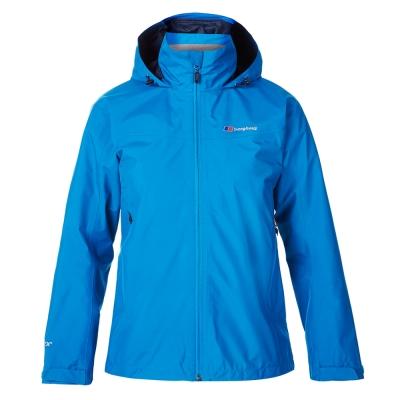 【Berghaus 貝豪斯】女款GoreTex防水透氣外套H22FR5藍
