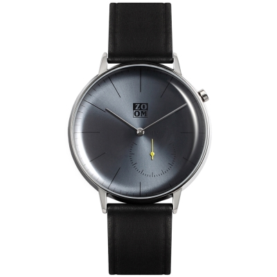 ZOOM Pure 生活觀察家極簡設計腕錶-午夜藍44mm
