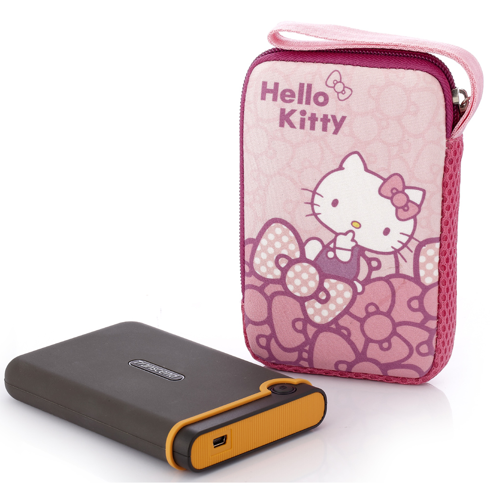 Hello Kitty硬碟包-蝴蝶結