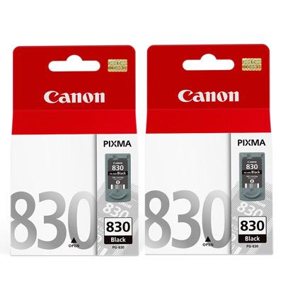 CANON PG-830  原廠墨水匣組合(2黑)