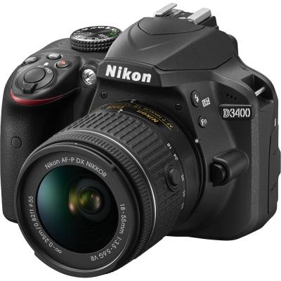 【64G原電組】NIKON D3400 18-55mm 變焦鏡組(公司貨)