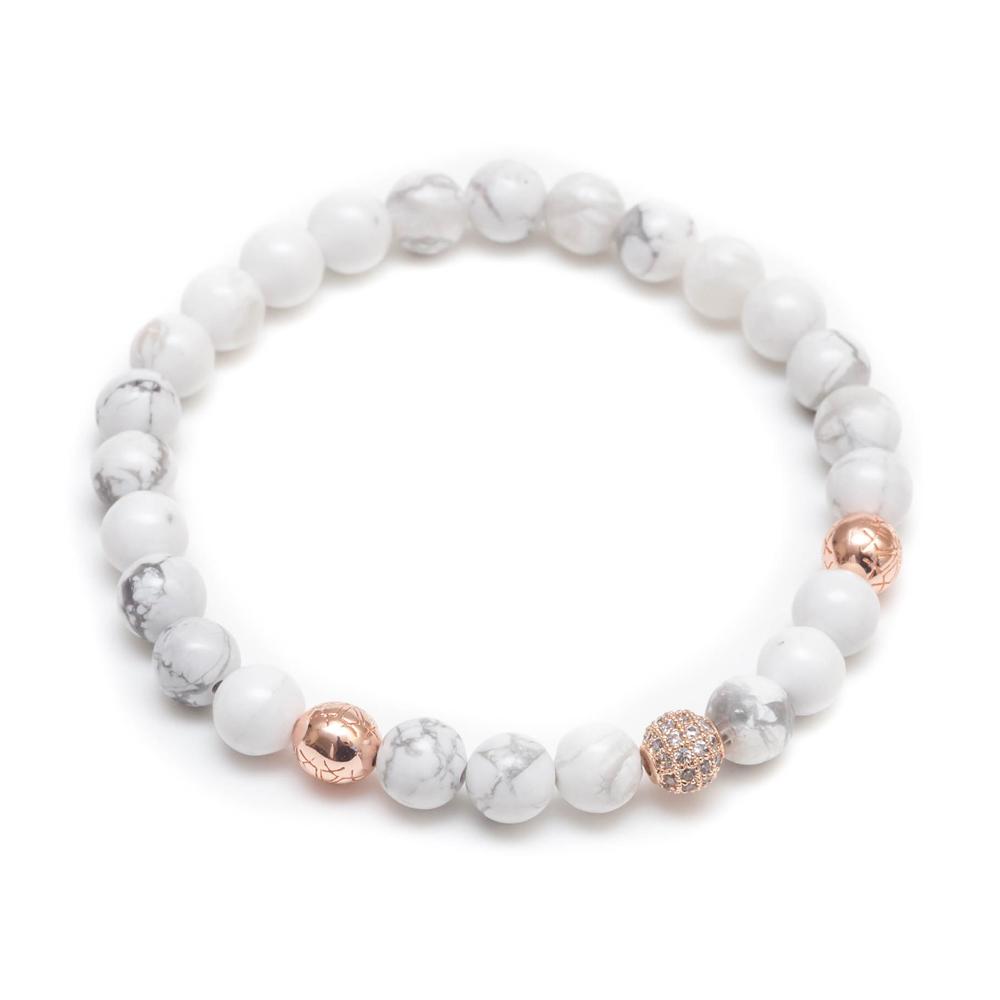 ZENGER  經典時尚串珠系列-單白玫瑰