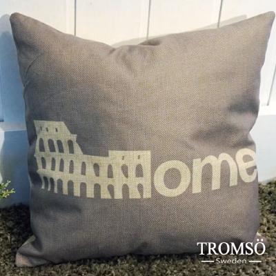 TROMSO品味英倫棉麻抱枕-經典羅馬