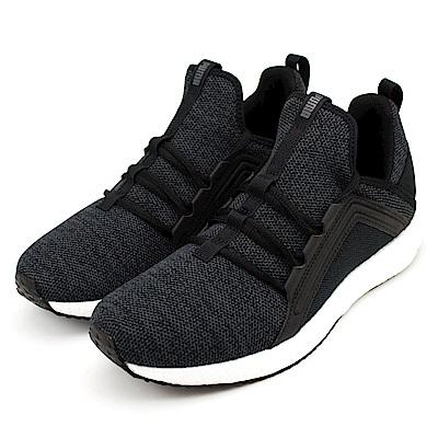 PUMA-Mega-NRGY-Knit男慢跑鞋-黑