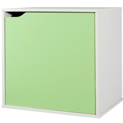 EASY HOME 魔術方塊單門收納櫃-森林綠