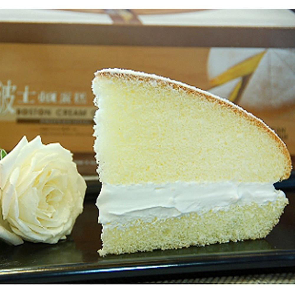 台灣鑫鮮 手工烘焙-原味鮮奶波士頓x1+香濃芋頭波士頓x1(2入組)
