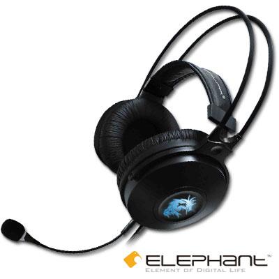 ★ELEPHANT 龍戰系列-加蘭德5.1聲道環繞音效-四合一專業電競遊戲耳麥