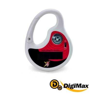 DigiMax  攜帶型太陽能充電式音波驅蚊器  <b>2</b> 入組  UP-12D8