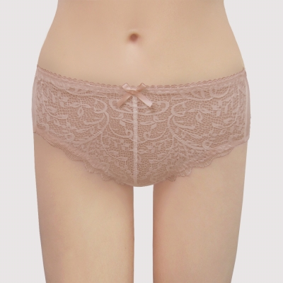 瑪登瑪朵 無敵美G  中腰三角棉內褲(楓糖膚)