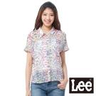 Lee 短袖襯衫 緞面雪紡拼接-女款(多色)