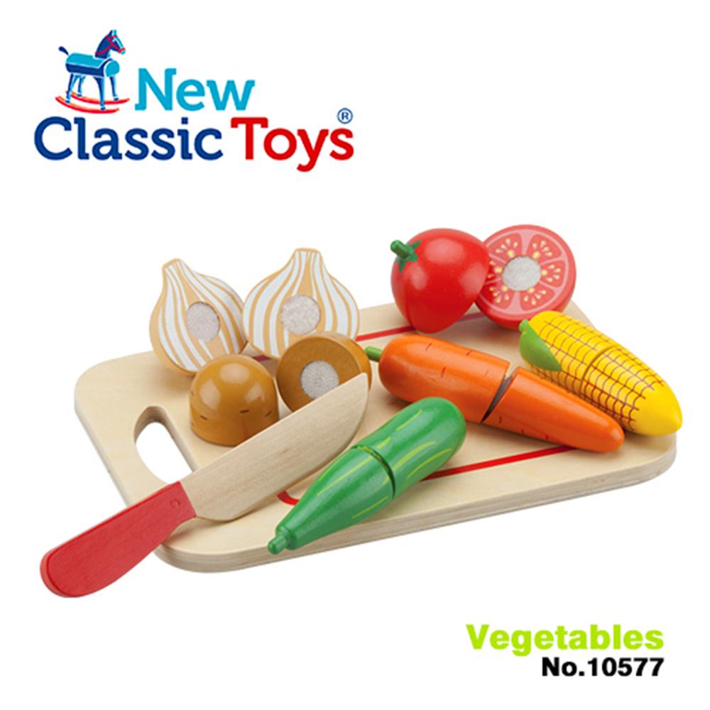 荷蘭New Classic Toys 蔬食切切樂8件組 - 10577