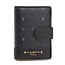 PLAYBOY- 名片夾 Black Beauty 黑晶兔系列-明星黑