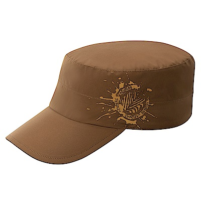 【ATUNAS 歐都納】GORE-TEX防風防水防曬休閒便帽鴨舌帽A-A1716深棕