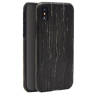 SHOWKOO 凱夫拉系列 iPhone X 實木紋手機殼