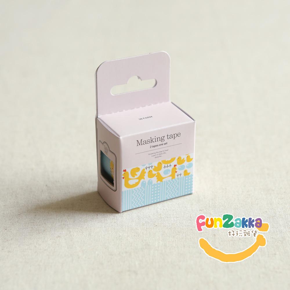 【Funzakka】紙膠帶(2入) 38-Farm