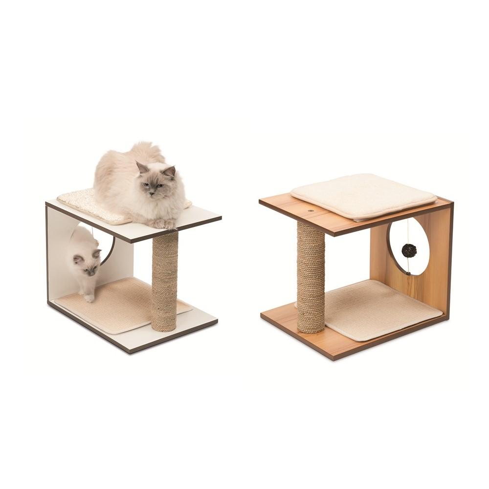 赫根Hagen Vesper貓用實木家具《遊戲板凳》