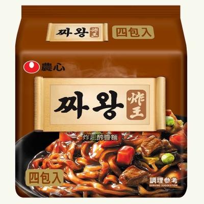 農心 炸王炸醬麵(134g×4入)