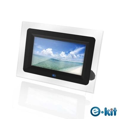 e-Kit-逸奇-7吋珍藏黑數位相框電子相冊