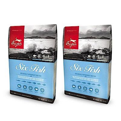渴望 成犬 六種鮮魚+海藻配方 犬糧 1KG 兩包組【2136】