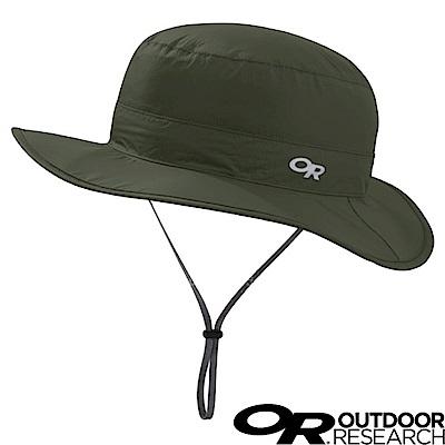 【美國 Outdoor Research】防水防曬透氣可調可收折遮陽帽_軍綠