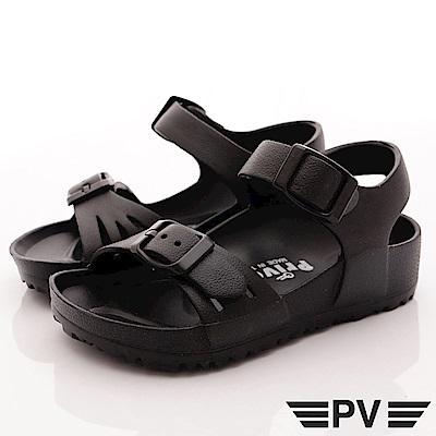 PV日系私藏 超輕量休閒涼鞋 891黑 (中小童段)