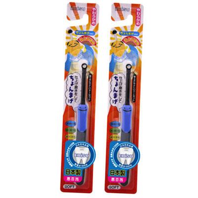 日本EBISU-武士頭口腔局部清潔刷×2入