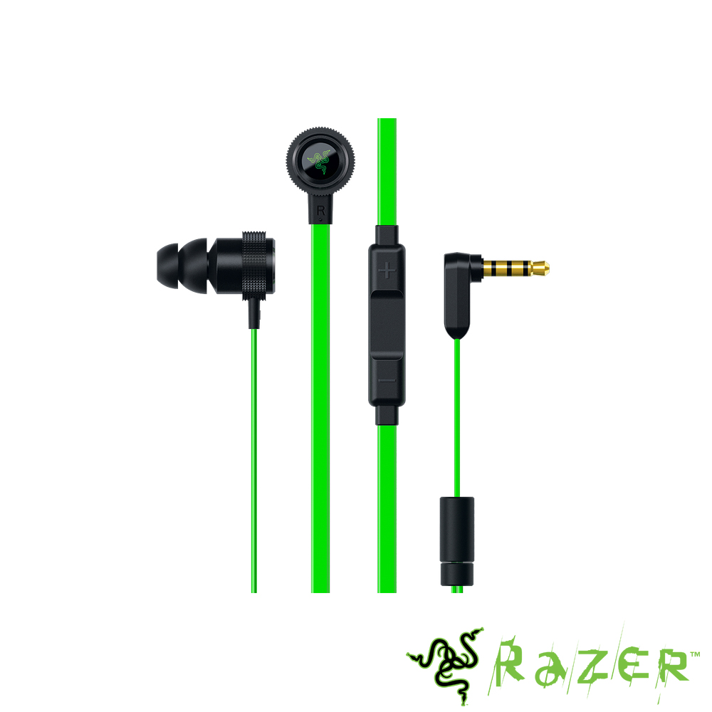Razer 雷蛇 戰錘狂鯊專業版 耳塞式耳麥Hammerhead Pro V2