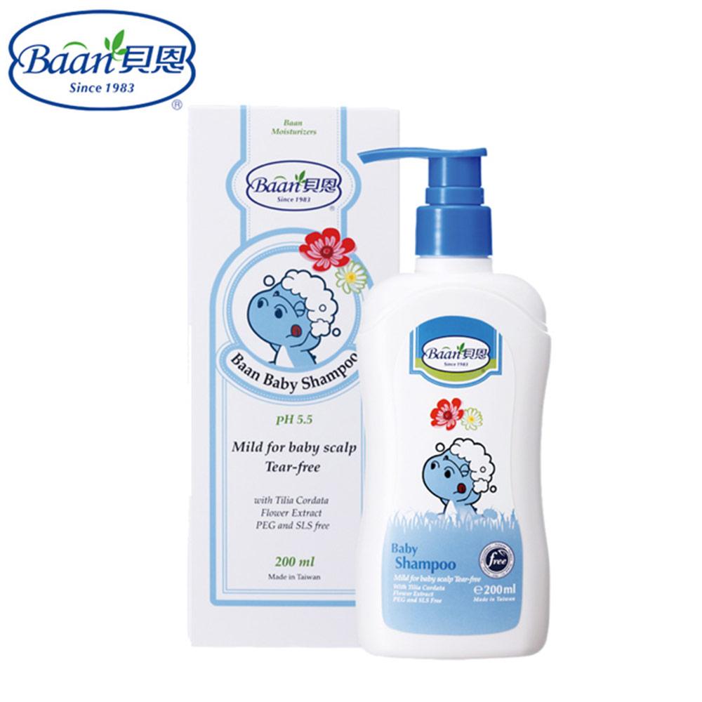 【買1送1】【德國貝恩 Baan】 嬰兒洗髮精 200 ml