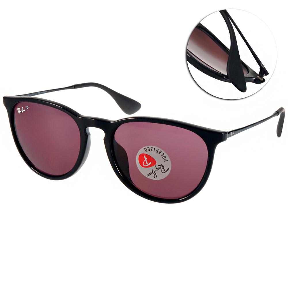 RAY BAN偏光太陽眼鏡 經典品牌/黑-紅#RB4171F 6015Q