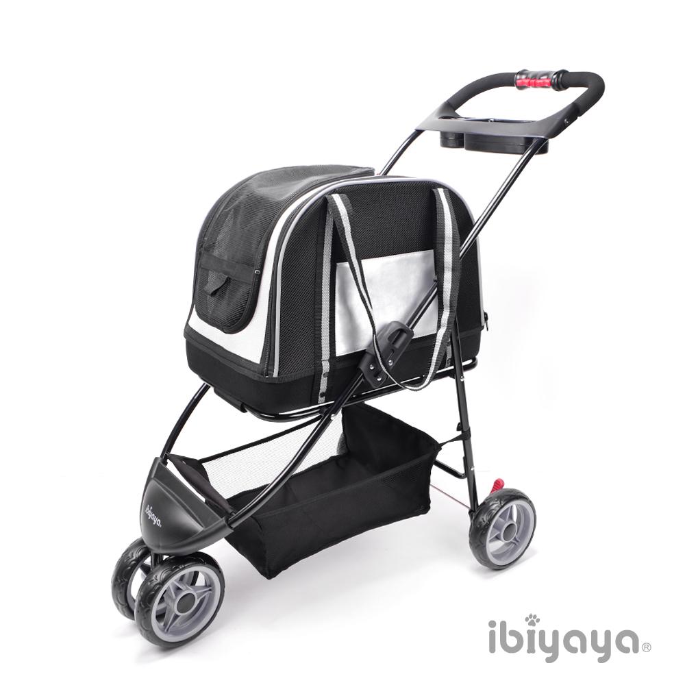 IBIYAYA依比呀呀-雙重奏分離式寵物提包推車-銀 (FS1511-S)