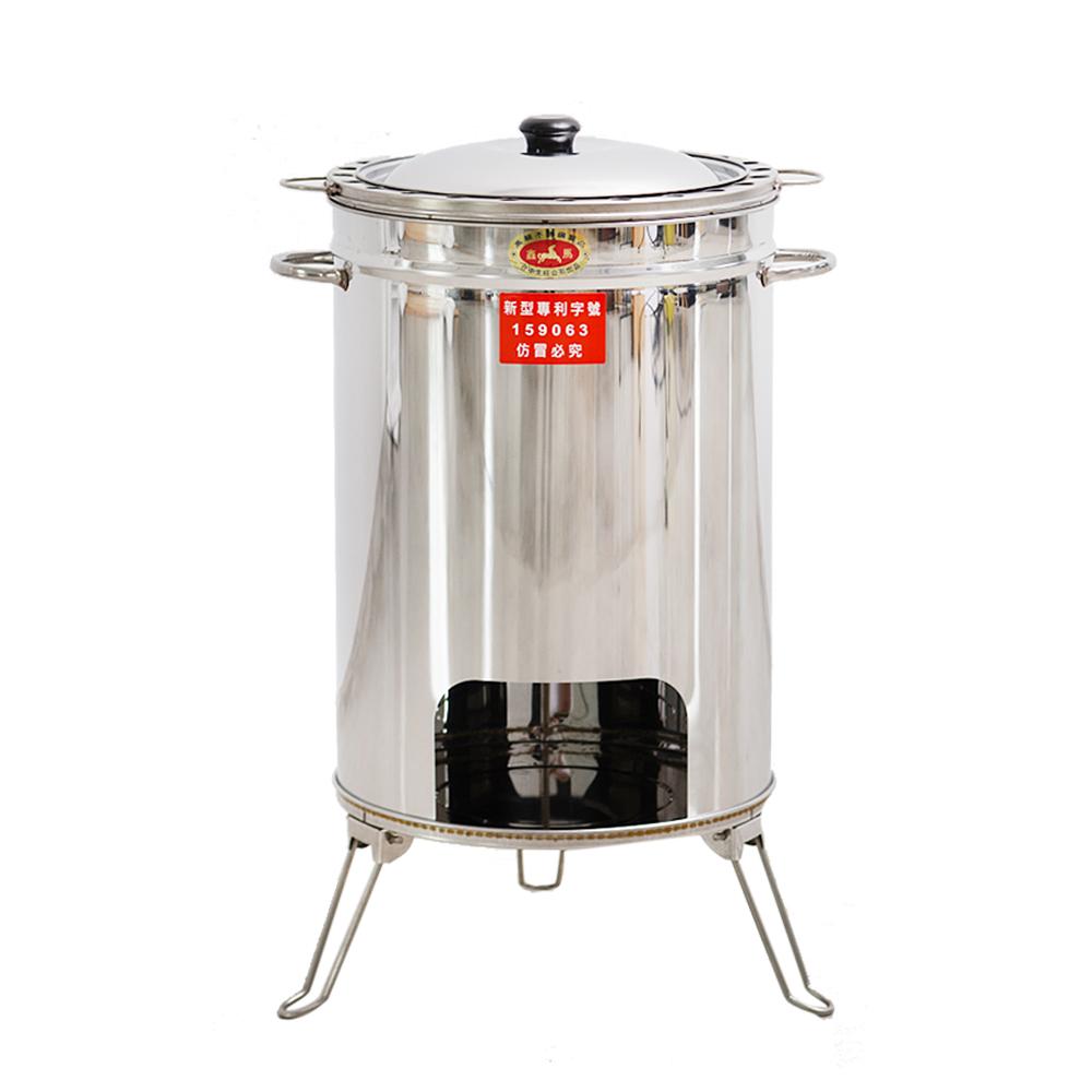 Home Feeling 不鏽鋼桶子雞爐(超值型)-烤雞/露營
