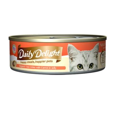 爵士貓吧 機能化毛餐《鰹魚白肉 胡蘿蔔》80g