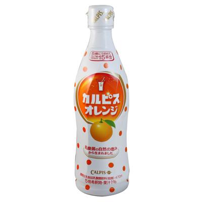 《Calpis》可爾必斯飲料 - 柳橙 (470ml)