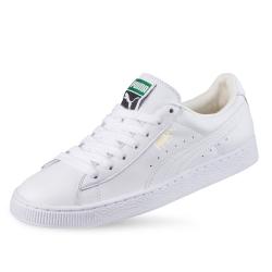 PUMA-Basket Classic LFS 男女復古籃球運動鞋-白色