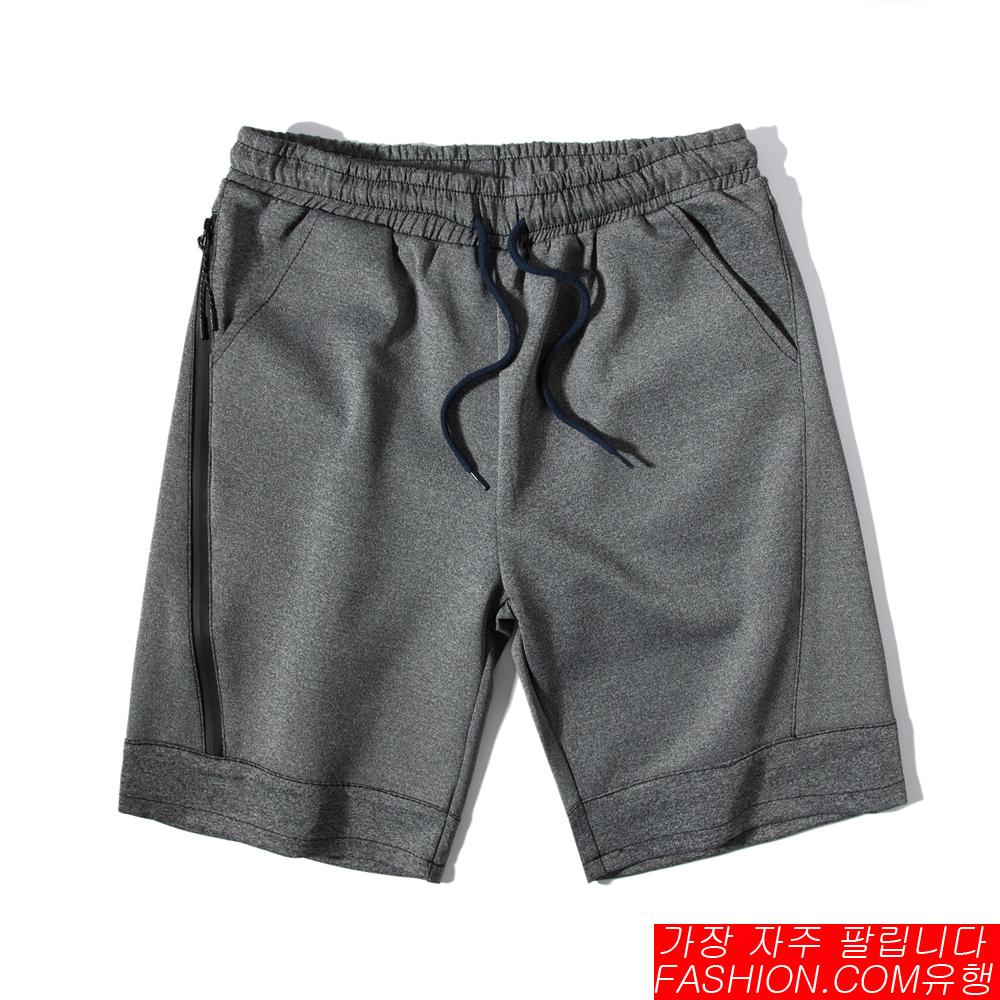 FASHION館 機能防水拉鍊JOGGER運動棉褲 低檔剪裁