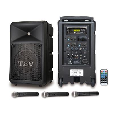 TEV 藍芽/DVD/USB/SD三頻無線擴音機 TA680iD-3