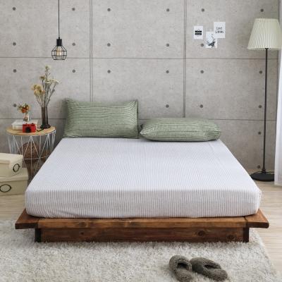 GOODDAY-筆記本(綠) -纖絨棉-防蹣系列-床包 (150x186cm)
