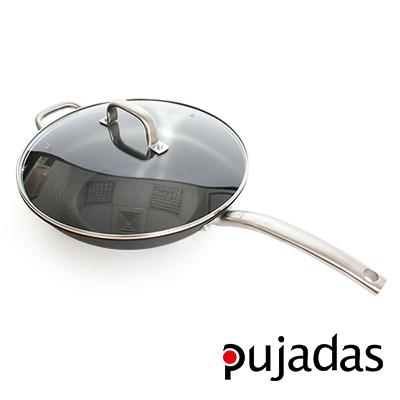 西班牙Pujadas-1921輕鑄鐵炒鍋32cm