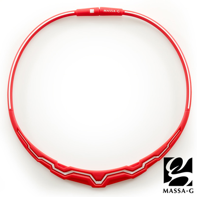 MASSA-G【The Aurora 極光系列-Red w.】 鍺鈦項圈