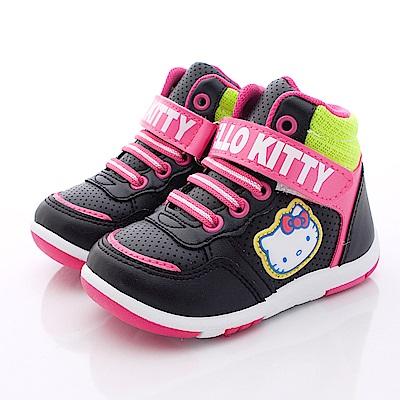 HelloKitty童鞋 跳色短靴款 SE15138 黑 (小童段)T1