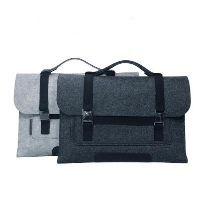 LAQ DESiGN 13吋 筆電/平板 兩用手提羊毛氈包