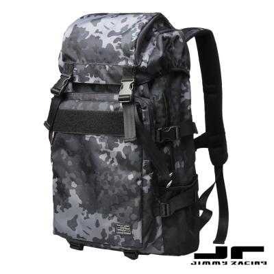 JimmyRacing金剛狼迷彩大容量雙肩包後背包15吋筆電包