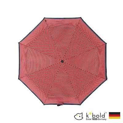德國kobold酷波德 亞馬遜抗UV防潑水-商務傘-全自動傘-紅點
