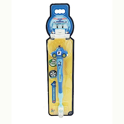 POLI 波力-立體兒童牙刷 (波力造型)