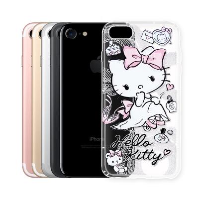 Hello Kitty貓 iPhone 8/iPhone 7 透明空壓防震殼(成...