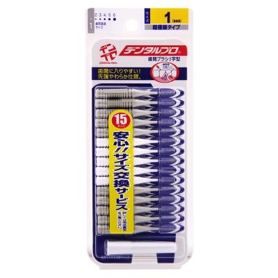 日本JACKS齒間刷15入-1號(SSS)