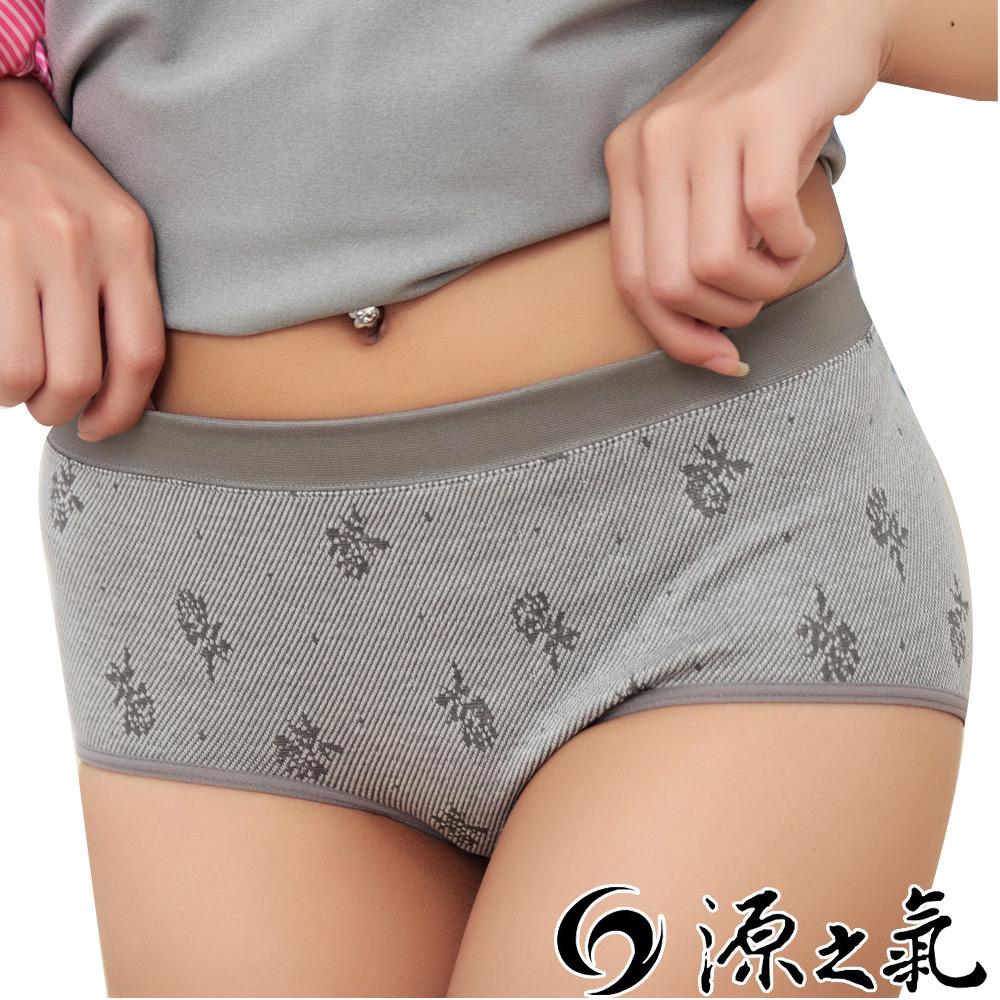 源之氣 竹炭+棉/低腰淑女內褲(4件組) RM-10075